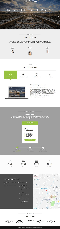 The Launcher Pro - Premium WordPress Landing Page Themes