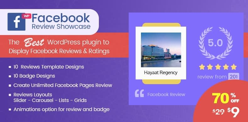 wp facebook review showcase wordpress facebook review plugins - How to Display Facebook Page Reviews on your WordPress Website? (Step by Step Guide)