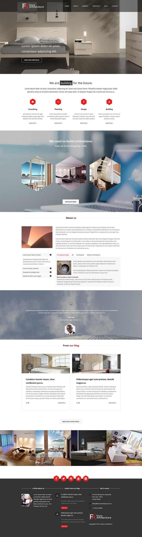 future arhitecture best premium architecture wordpress theme - 10+ Best Premium Architecture WordPress Themes