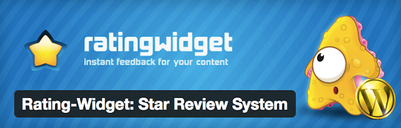 Rating Widget - 15 WordPress Tools to Help You Run Your eCommerce Store