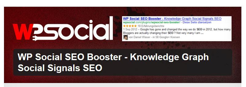 WP Social SEO Booster freemium - 27+ Best Free Premium WordPress SEO Plugins 2019