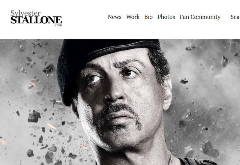 Sylvelster-Stallone