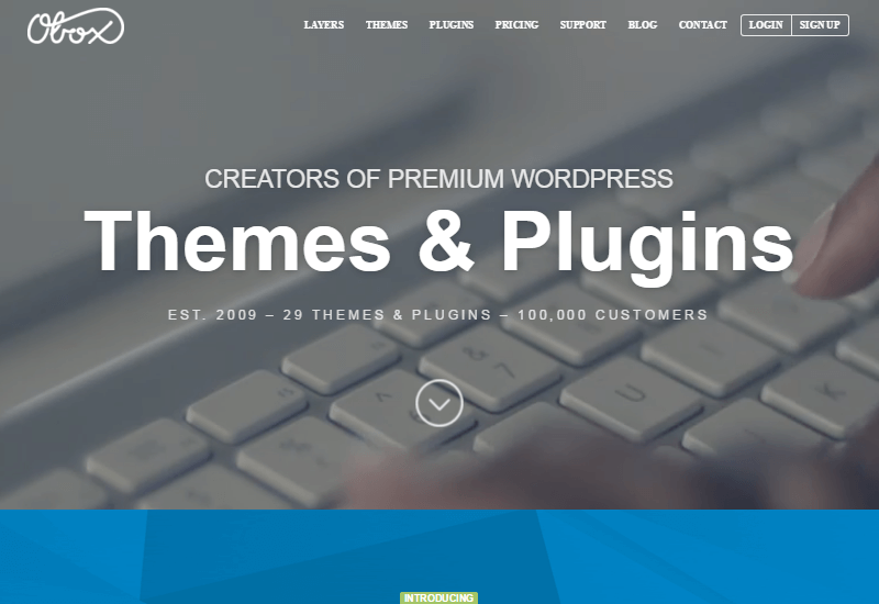 OboxThemes - 25+ Best Marketplaces for Premium WordPress themes and Plugins