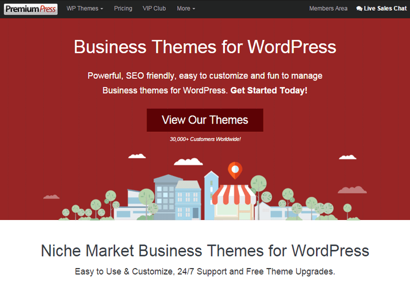 PremiumPress Themes - 25+ Best Marketplaces for Premium WordPress themes and Plugins