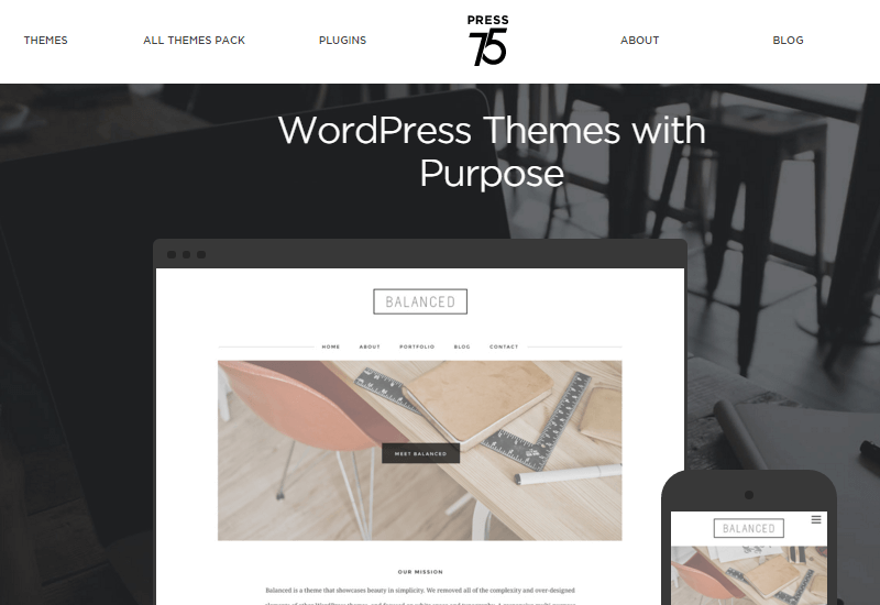 Press75 - 25+ Best Marketplaces for Premium WordPress themes and Plugins