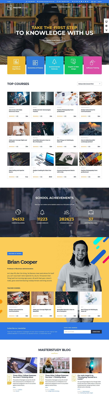 MasterStudy Education - Best Premium LMS WordPress Theme