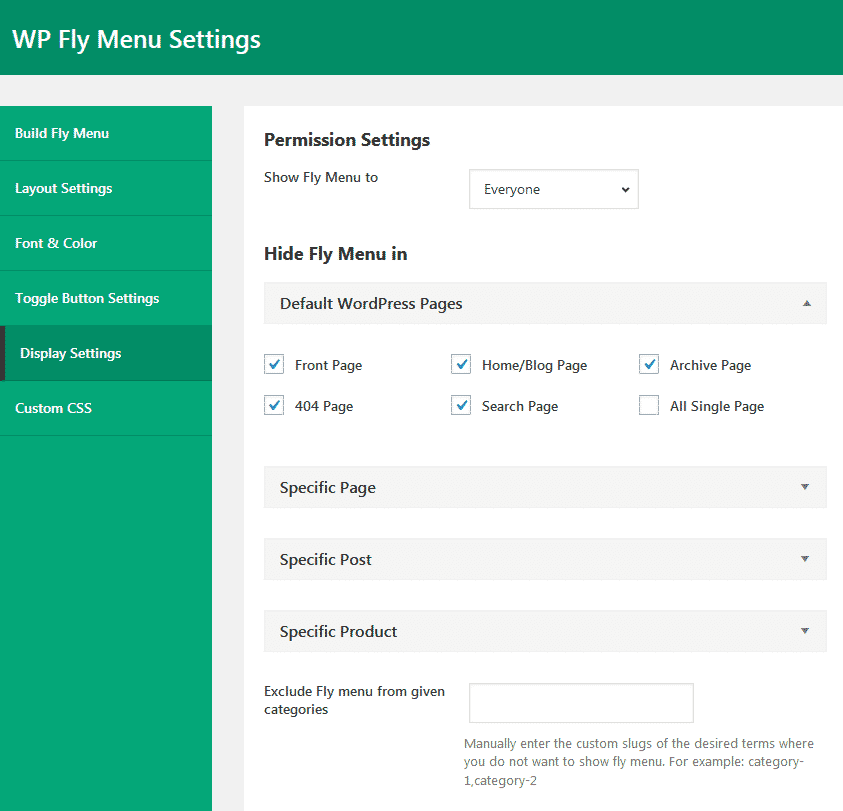 display settings - How to add Off-Canvas Navigation Menu on WordPress website? (Step By Step Guide)