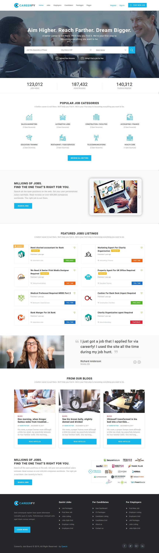 Careerfy - Best Premium Job Board WordPress Theme