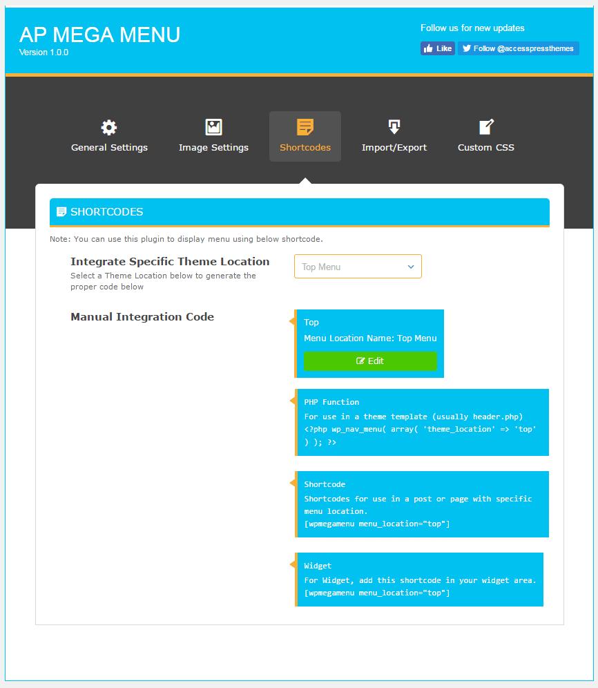 shortcodes - How to add Mega Menu on WordPress Website Using AP Mega Menu plugin? (Step by Step Guide)