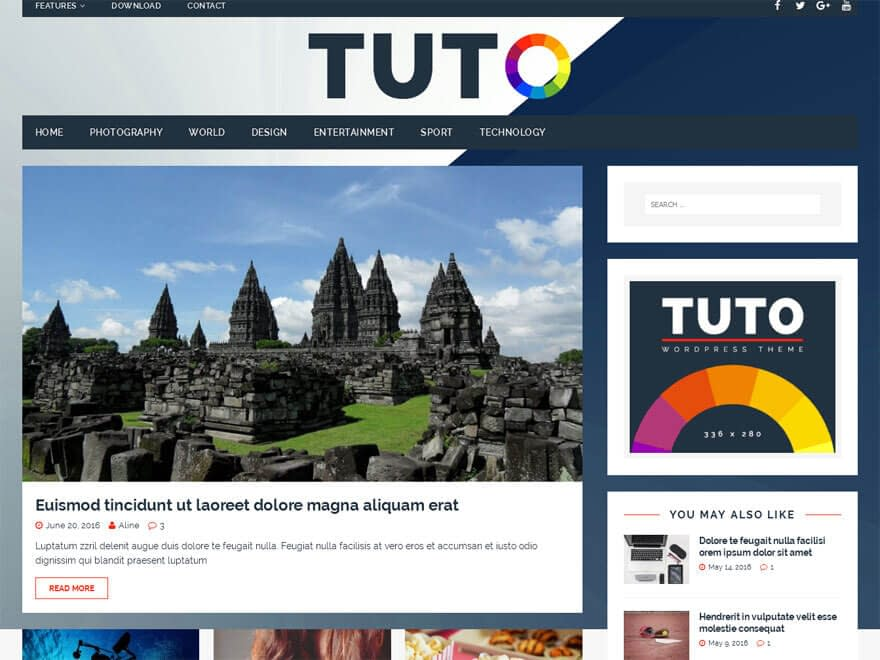 tuto-free-wordpress-magazine-theme
