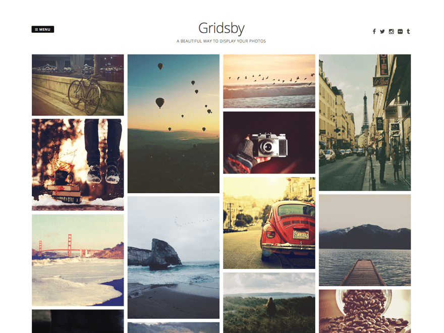 Gridsby - 50+ Best Free Responsive WordPress Themes 2019
