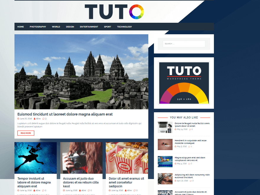 tuto - 11+ Best Free WordPress Themes July 2016 – WPAll Club