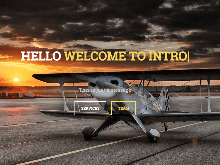 Intro - 30+ Best Free WordPress Landing Page Themes and Templates 2019