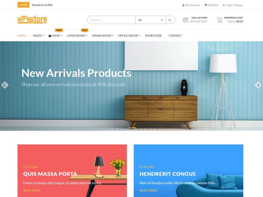 wp store pro demo - 30+ Best Premium WordPress eCommerce/WooCommerce/Online Store Themes 2019
