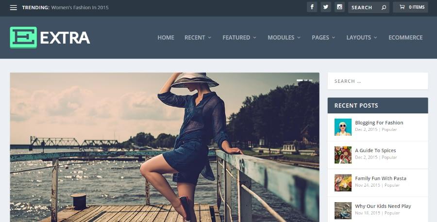 Extra - 21+ Best Premium WordPress News/Magazine/Editorial Themes 2019