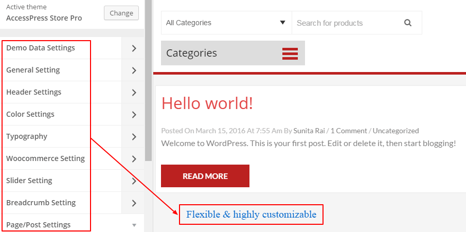 flexble wp - 15 Reasons Why Choose WordPress for Business Websites