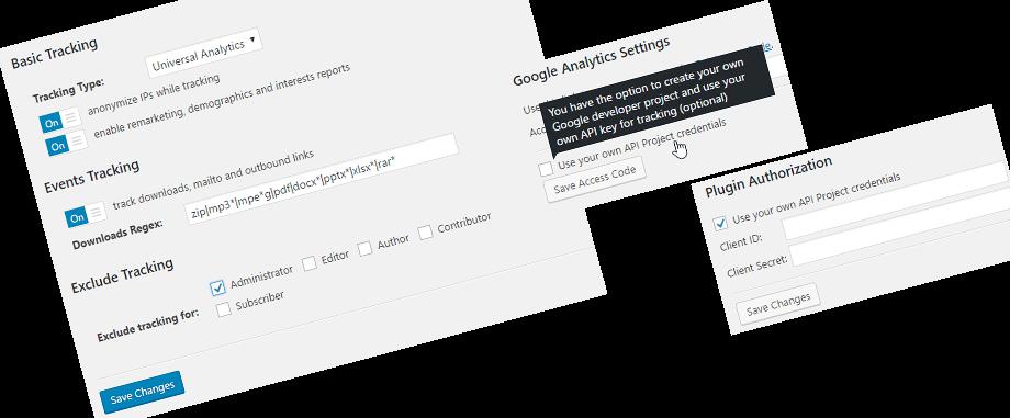 advanced analytics options - WP Meta SEO - A Complete SEO Solution for WordPress Websites