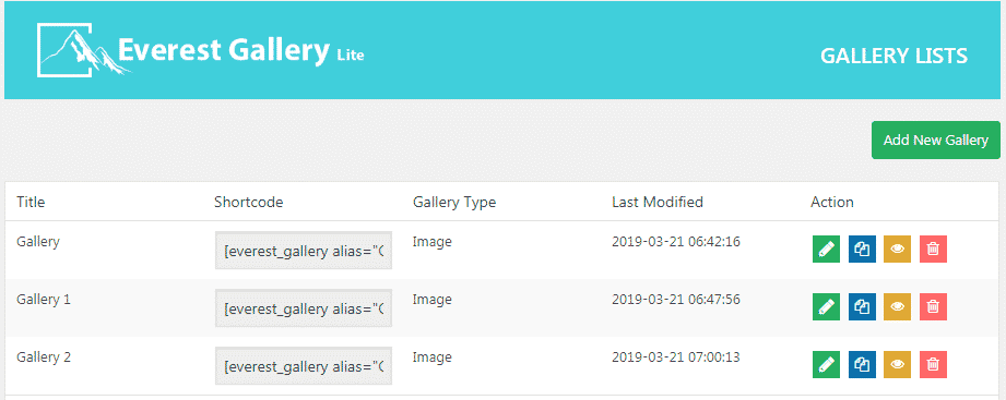 all galleries - How to Add Image Gallery on WordPress Website? (Step by Step Guide)