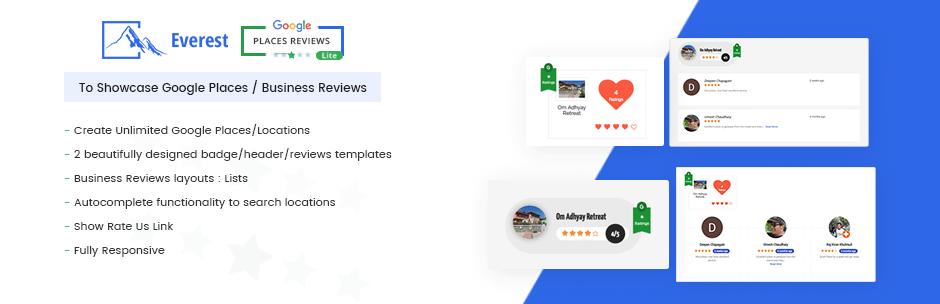 Everest Google Places Reviews Lite