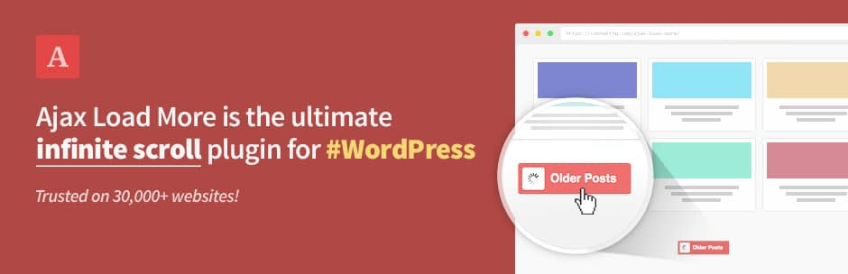 Ajax Load More - 5+ Best Free WordPress Infinite Scroll Plugins