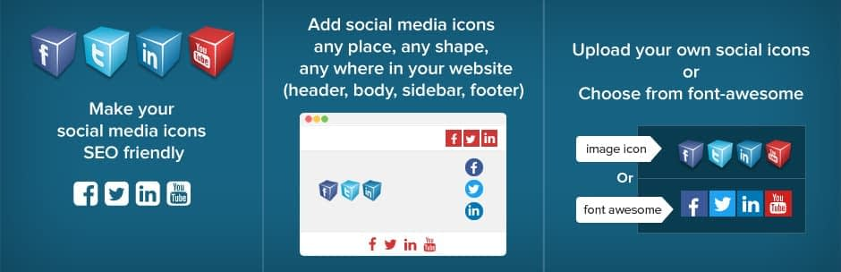 Easy Social Icons - Best Free WordPress Social Icons Plugin