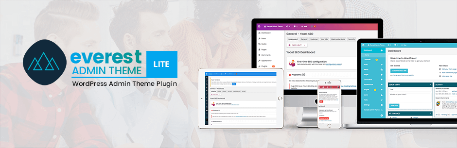 Everest Admin Theme Lite: Customize WordPress Admin Dashboard