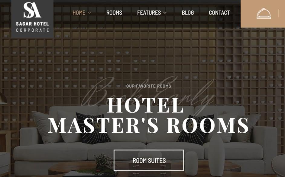 Sailing - Premium Hotel WordPress Theme