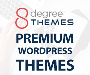 25% Off in all Premium WordPress Themes by 8Degree Themes
