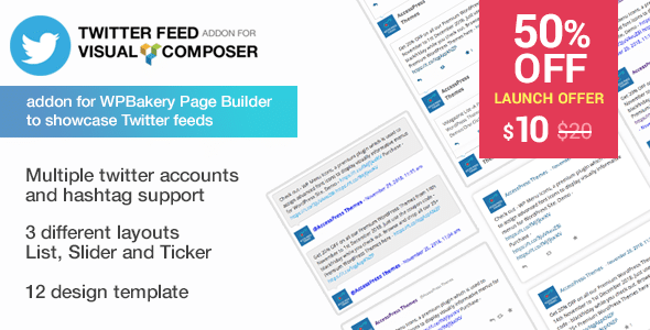twitter feed for visual composer - 5+ Best WordPress Twitter Feed Plugins