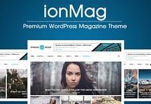 ionMag - Best WordPress Magazine Theme